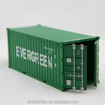 20 Feet Scale 1 30 Metal Shipping Container Model