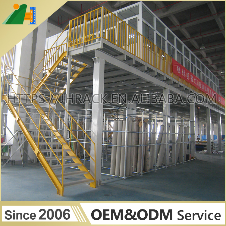 China Top Supplier Customized Durable Warehouse Raised Structure Mezzanine Floor