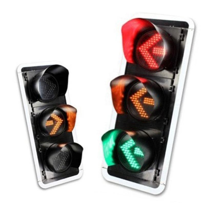 GUARANTEED 300mm 400mm turn solar traffic light signal light