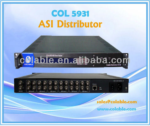 DTV headend Equipment / Distributor/ ASI & TS distributor COL5931
