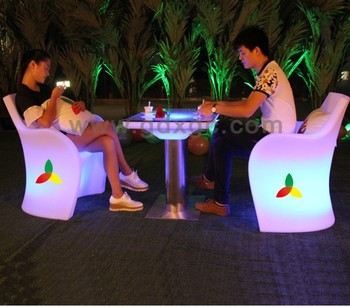 led restaurant chair,led illuminated chair,top quality plastic baby plastic chair