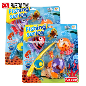 Factory kids plastic toy swimming fish play game game fishing toys for children