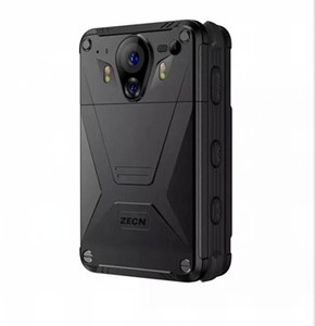 4G wifi gps police body worn video camera Android 2.4inch touch screen bluetooth live streaming videos