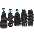 top grade raw unprocessed cuticle aligned hair loose curly hair extensions deep wavy human hair bundles