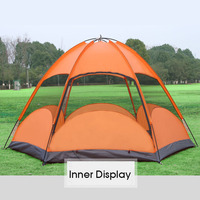 New design outdoor luxury camping house tent waterproof for sale