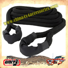 Superb weaving technology manufacture offroad recovery Kinetic snatch straps car towing strap