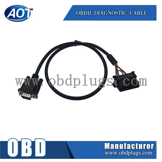 db9 db15 rs232 to obd female connector cable - buy obdii db15, Wiring diagram