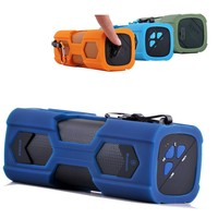3 watts car shape rechargeable portable speaker for iPod iPhone with 3.5mm audio plug