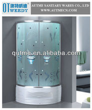 AUTME High Tub MIddle Tray/Base with Good Water Surf Shape/Lines Simple Shower Room Enclosures