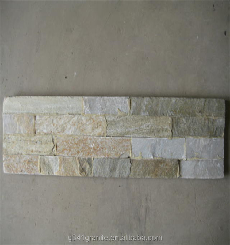 artificial stacked stone for hot sell/ culture wall slate/ deco stone