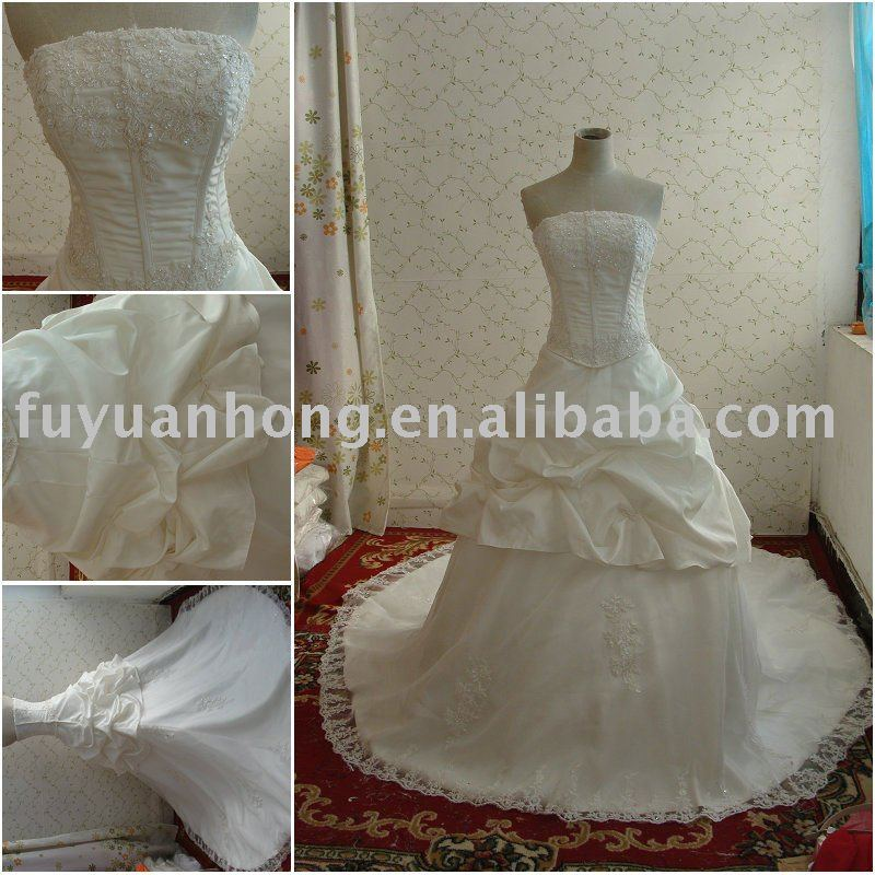 2011 real wedding dress advance /FYH-RD2093