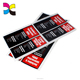 Nice practical superior quality oem color printing clothing tag sticker