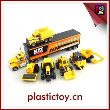 kid metal toy cars metal construction vehicles set toy zdc171629