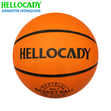 B 001 size7 rubber basketball factory