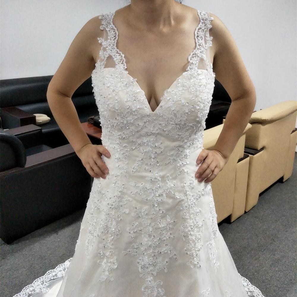 NE158 Vestidos De Noiva 2017 China Brautkleider Sexy Weinlese ...