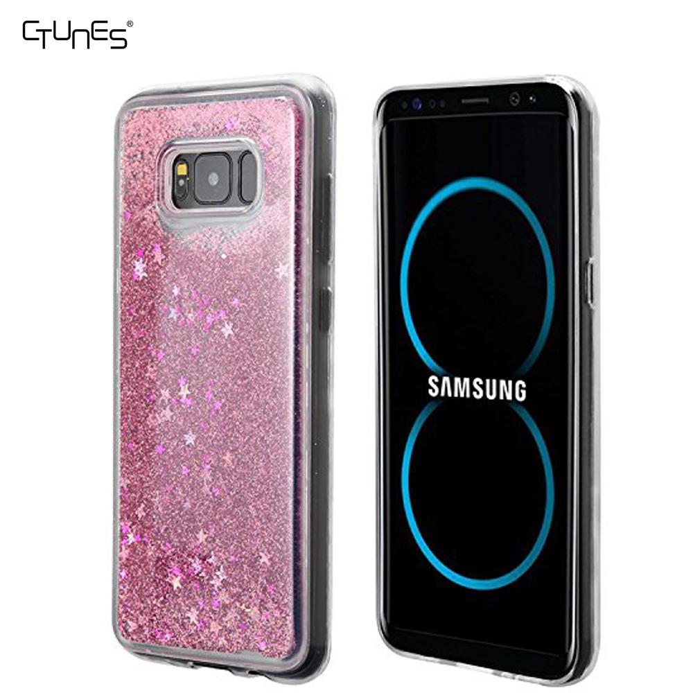 Para Samsung S8 Glitter líquido caso flotante Quicksand caja del teléfono bastante diseño de moda para Samsung Galaxy S8