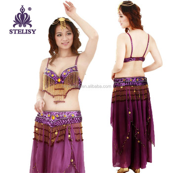 2015 Stelisy Belly Dance Stage Dance Naked Dress Stage Set Show Wear ...