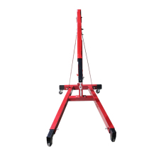 Euro Type cheap price 2 ton workshop wheel crane