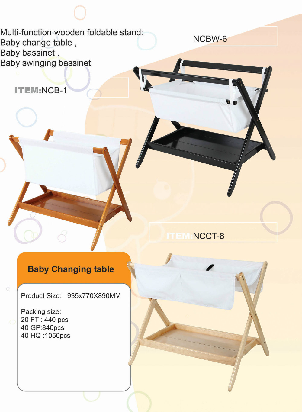 - Folding Wood Baby Diaper Changing Table,Baby Changing Station