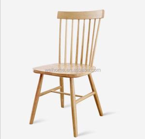 hotsale solid oak wood windsor chair