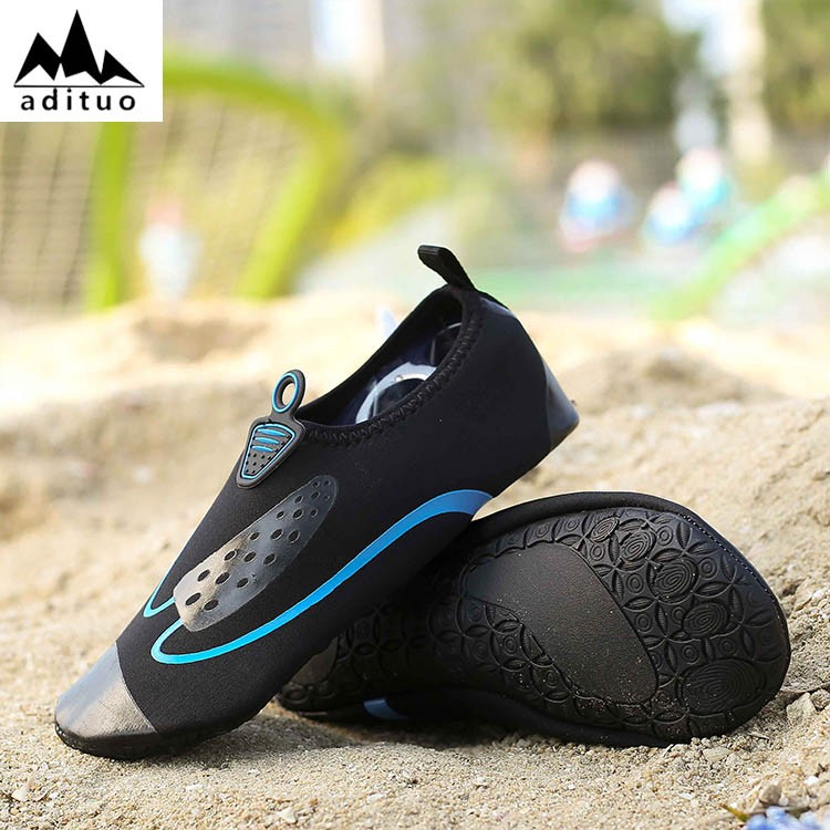 Newest Rubber Solf Men Fashion Swimming Shoes Sufring Skin Shoes Water Shoes