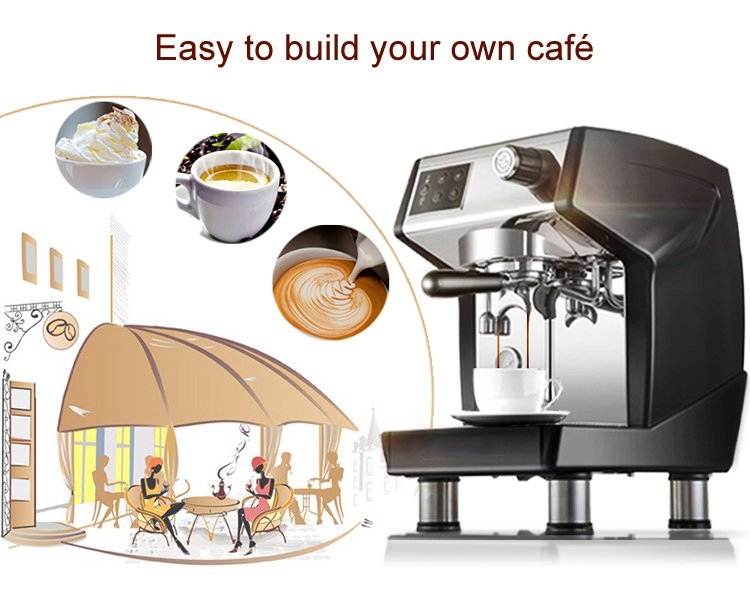 Coffee Equipment Espresso Commercial Espresso Automatic Coffee Machine For Sale