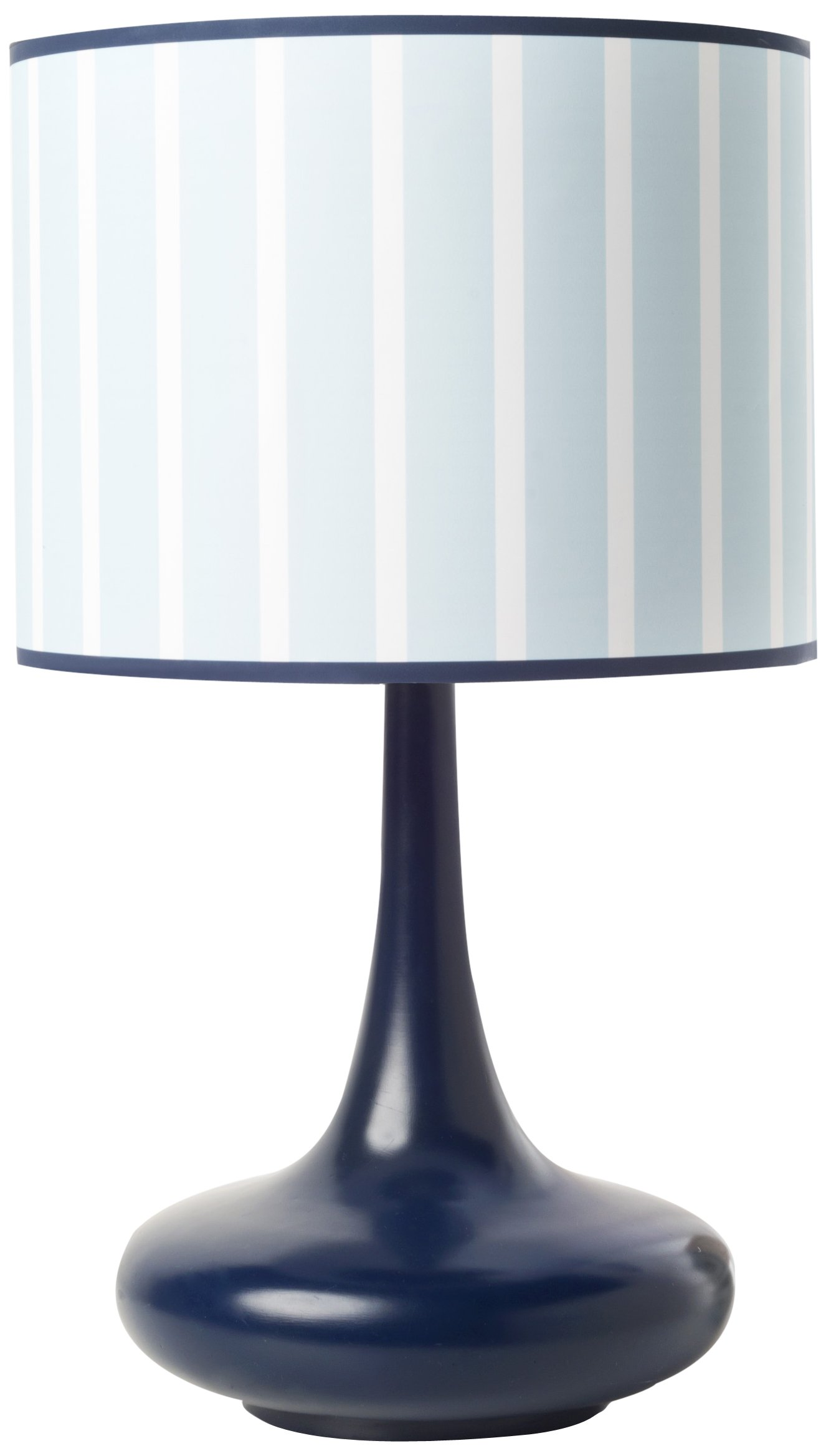 Get Quotations · CoCaLo Mix U0026 Match Lamp Base And Shade, Candy Stripe Navy  (Discontinued By Manufacturer
