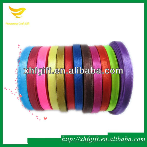 Double faced polyester satin ribbon wholesales