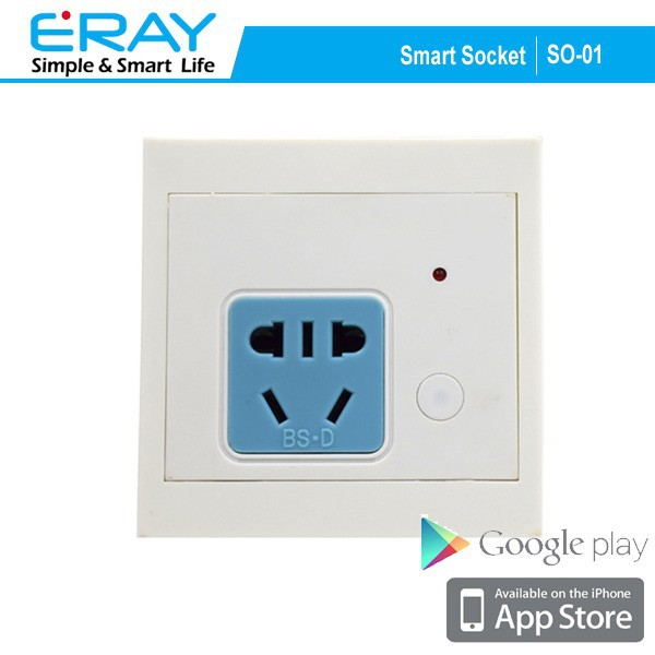 APP controlled Intellignent Home automation application wirless RF 433MHZ outlet wall socket