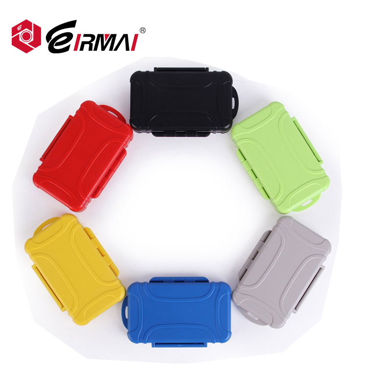 sd memory card case fpr TF/sd/md abs material waterproof and shockproof