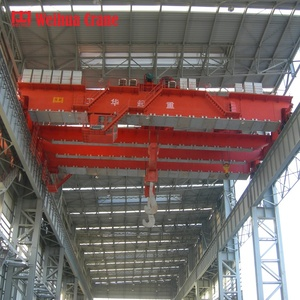 WEIHUA customized steel melting plant overhead crane to lifting furnace