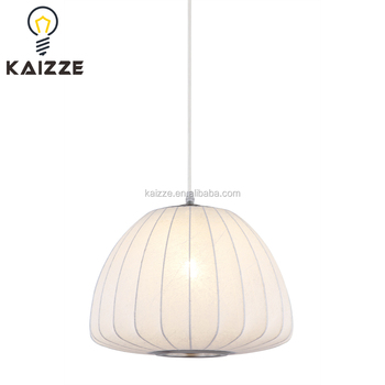 Chinese Style Fabric Pendant Lamp Silk Cloth Hanging Shade Modern Lamps Wall Product On