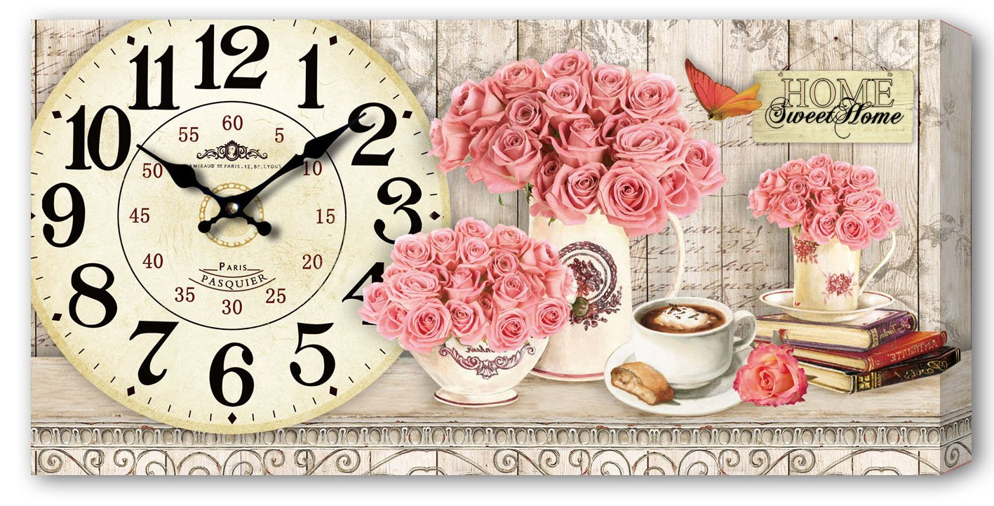 Vintage Inspired Kitchen Wall Clock (DZ 5521)