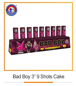 96 Shots color pearl flowers with report fireworks battery cake for sale