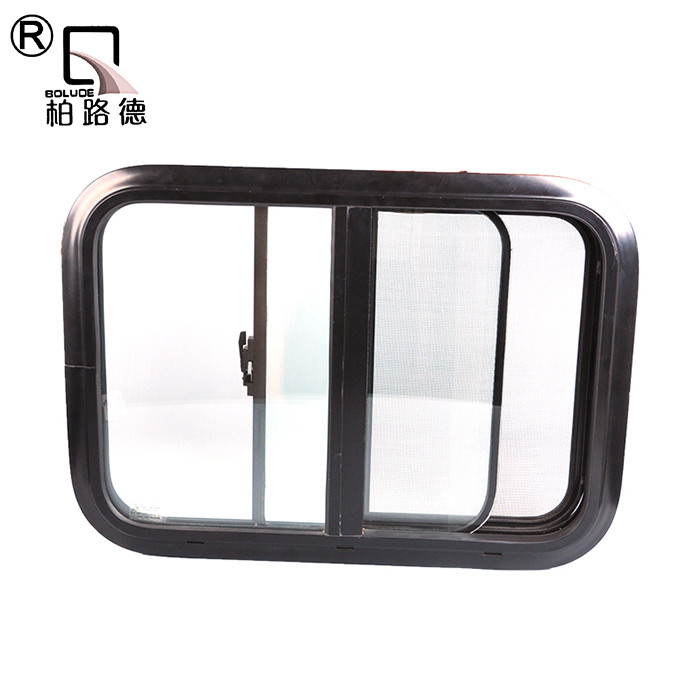 aluminium extrusion side motorhome windows