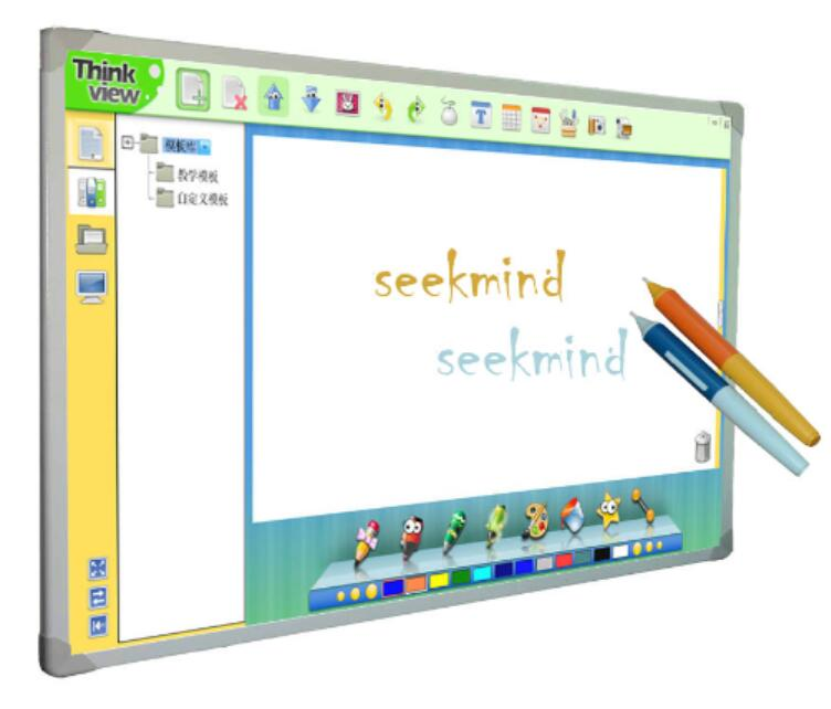 Interactive digital pen for smart board