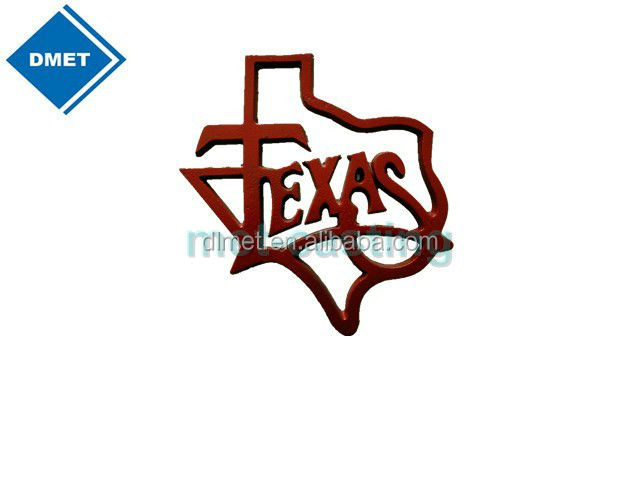 Ornamenti in ferro battuto/Texas state decorazione forma