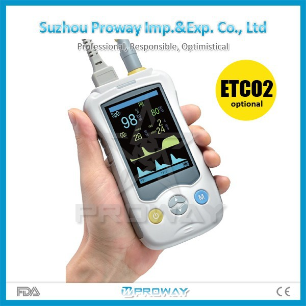 PPO-Y20C Cheap Handheld Pulse Oximeter with Oximeter SPO2 Sensor