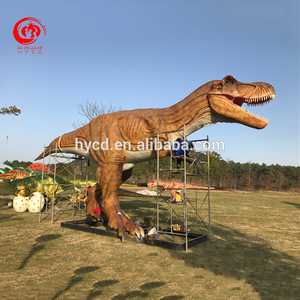 Outdoor Attractive Huge Mechanical Animatronic Dinosaur Statue for Sale