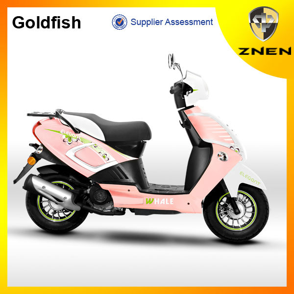 New GASOLINE SCOOTERS 49CC of small,lovely,unique and economy cheap ZNEN GOLDFISH with EPA DOC certificate