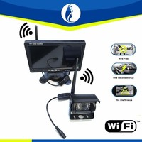 Rear View Back up monitor Wireless Backup Camera System for Freight & Hgvs Farm Equipment Trailer & Rv Safety Vision