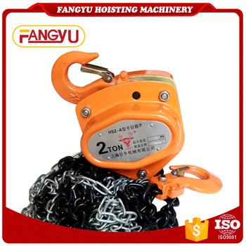 Manual Chain Pulley Block, Hand Chain Hoist lifting
