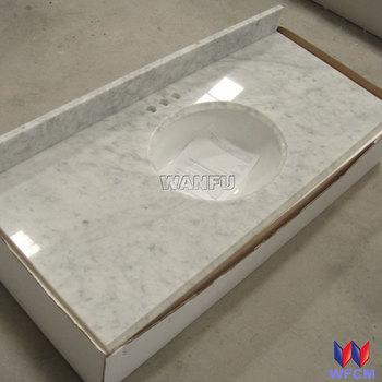 Carrara White Marble Veneer Countertops