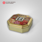 Tin Can Round Empty Tin Can Tin Box Customized Feature Mould Available CMYK Printing Mooncake Gift Tin Can