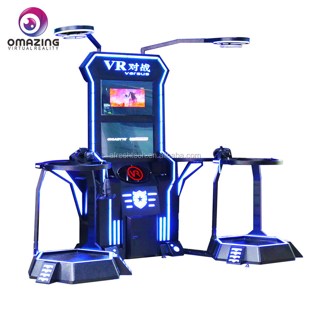 High quality immersive 9d virtual reality gaming treadmill gaming vr