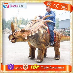 SH-DR126 Customized animatronic walking dinosaur puppet for sale