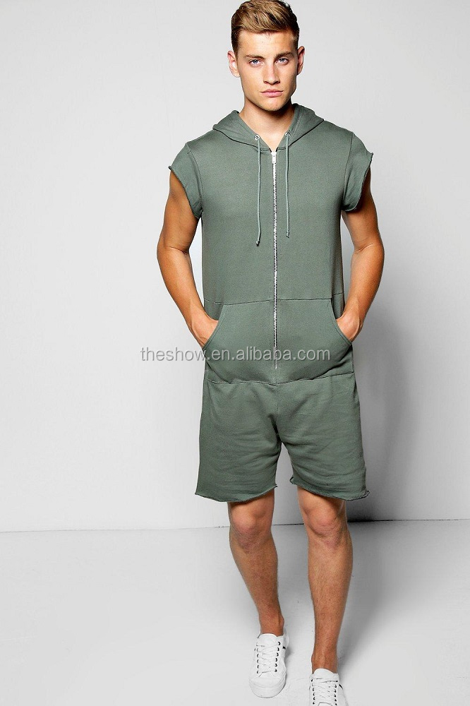 bce2ac8a2d8 Guangdong Garment Factory Custom Sleeveless Hooded Mens Summer