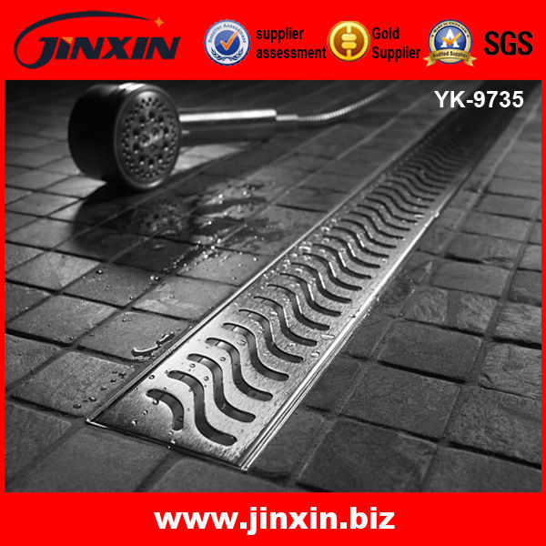 OEM square new design metal drain covers outdoor