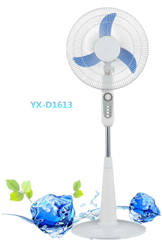 YAXIN 16 inch Cheap Price 12V DC fan/ 3 Speed Control with 1 hour timer