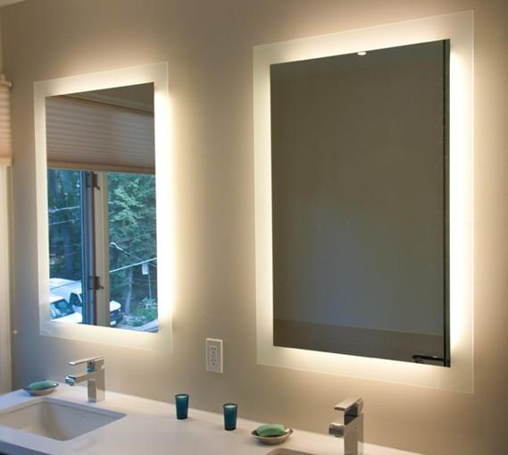 Modern Stylebathroom Led Lighting Vanity Mirrors With Anti-fog ...